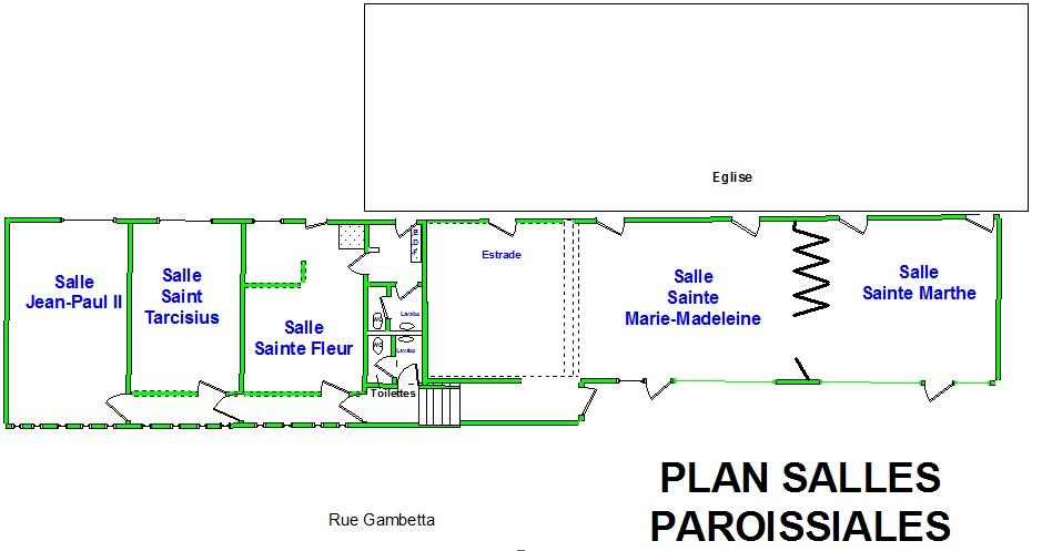 Plan Salles Paroissiales