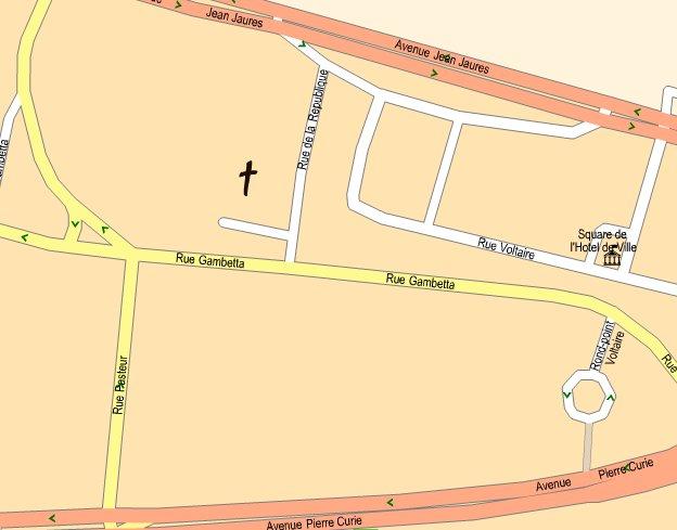 adresse plan de l'eglise